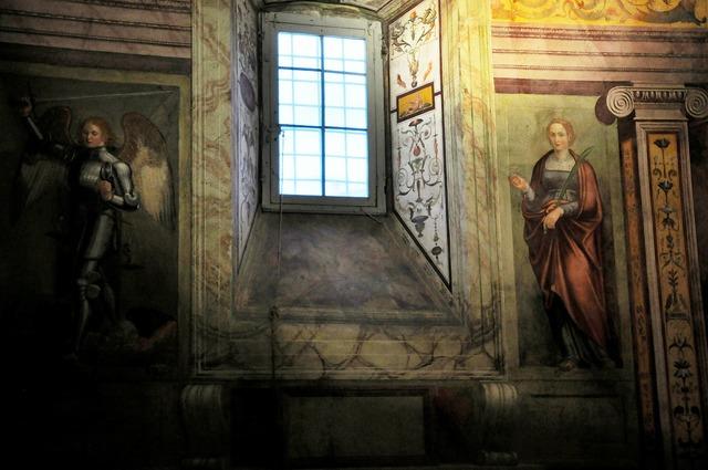 Church fresco catholic, religion.
