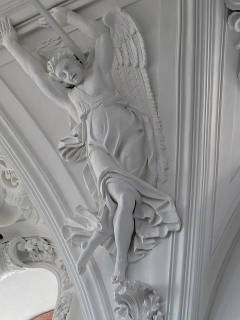 Church historically angel, religion.