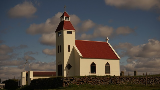 Church iceland highlands, religion.