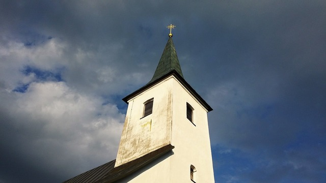 Church lackenhof steeple, religion.