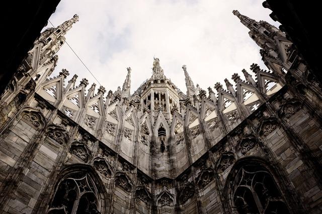 Church milan italy, religion.