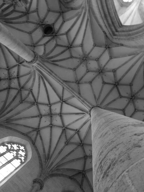 Church münster rib vault, religion.