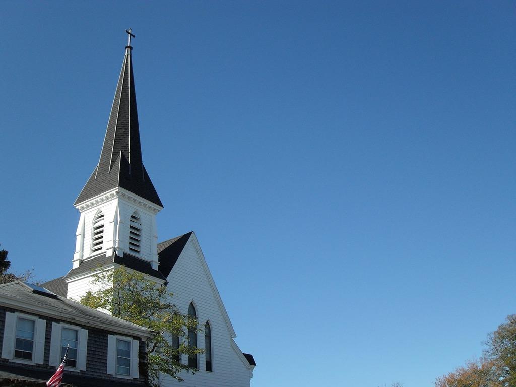 Church new england steeple, religion.
