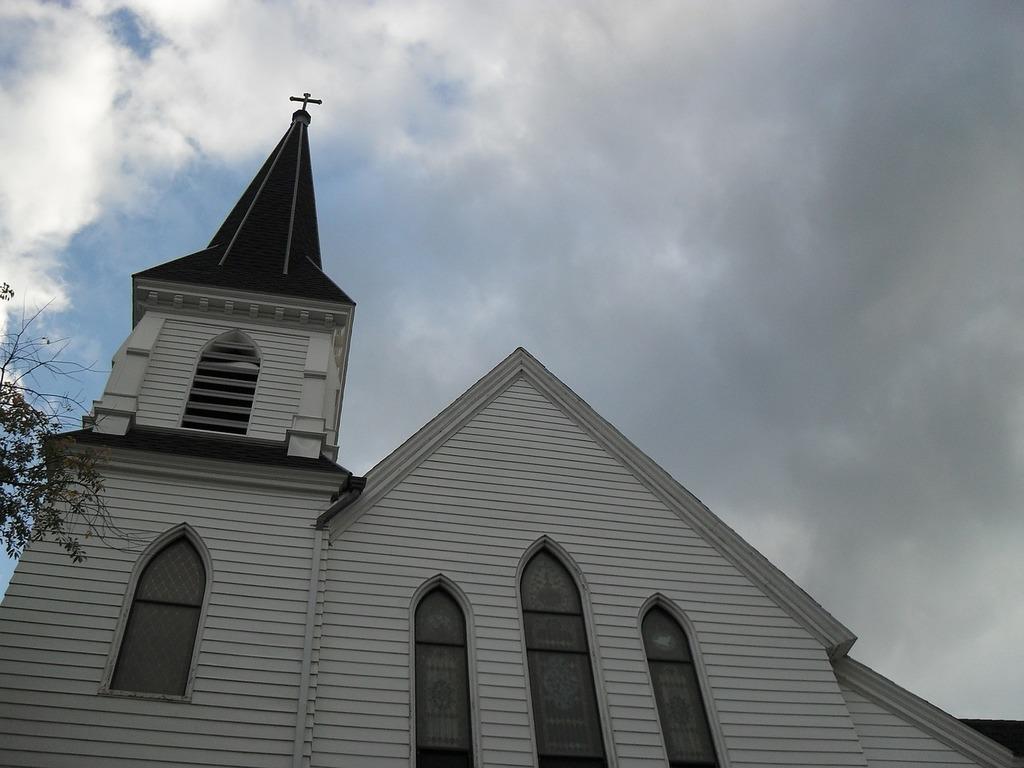 Church new england white, religion.