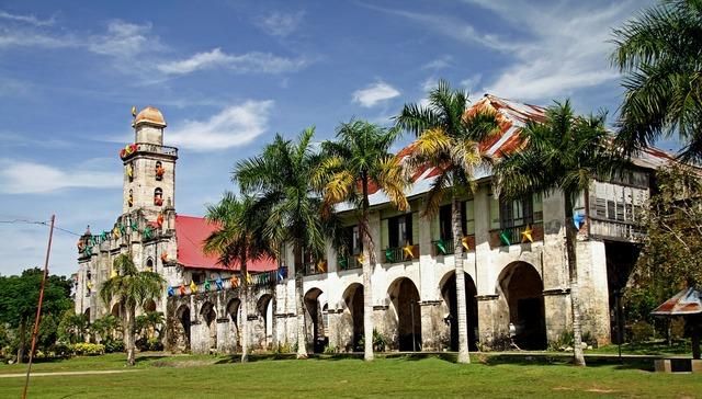 Church philippine architecture, religion.