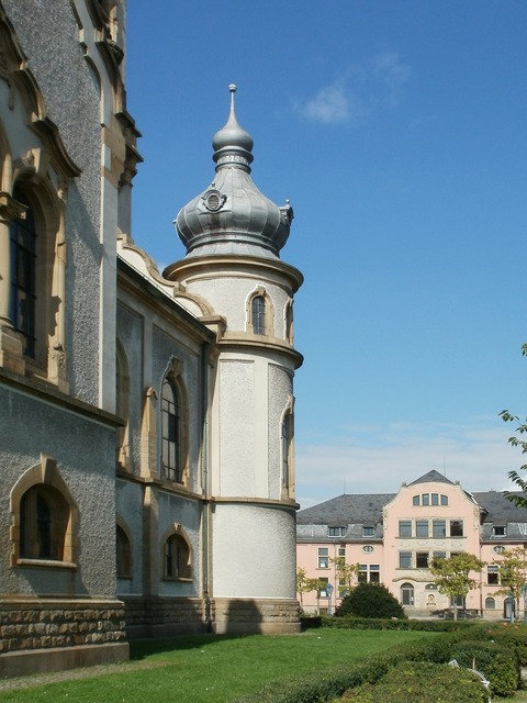 Church protestant hockenheim, religion.