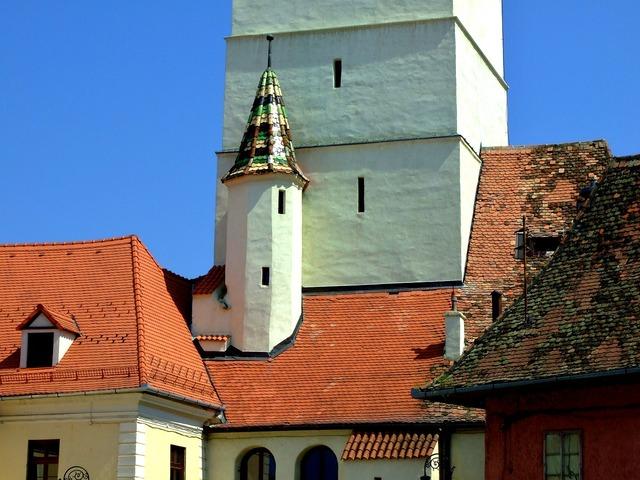 Church romania building, religion.