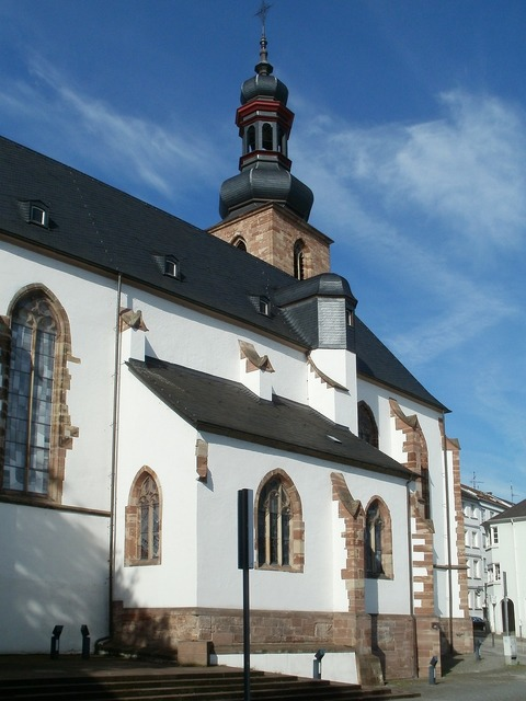 Church saarbrucken schlosskirche, religion.