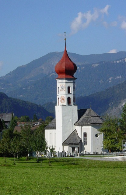Church steeple tower, religion.