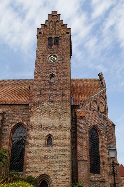 Church steeple ystad, religion.