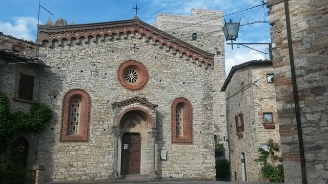 Church vertine chianti, religion.
