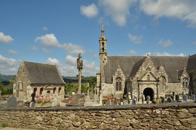 Church wall ossuary, religion.