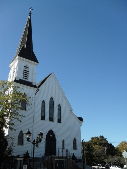 Church white new england, religion.