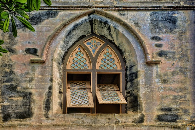 Church window barbados, religion.