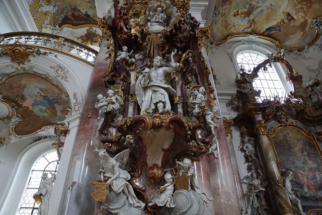 Church zwiefalten baroque, religion.