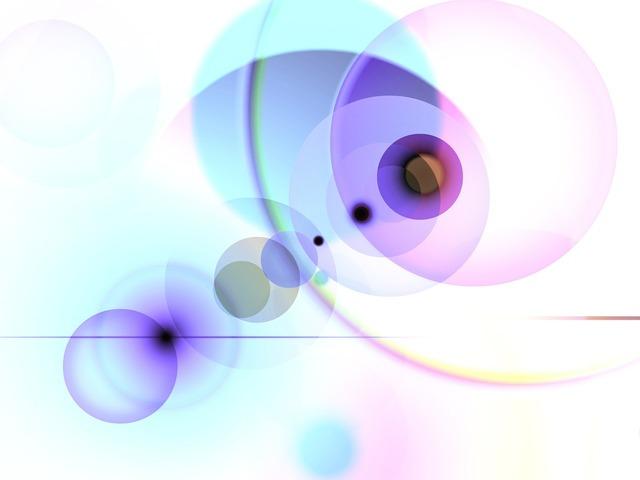 Circle lichtreflex background, backgrounds textures.