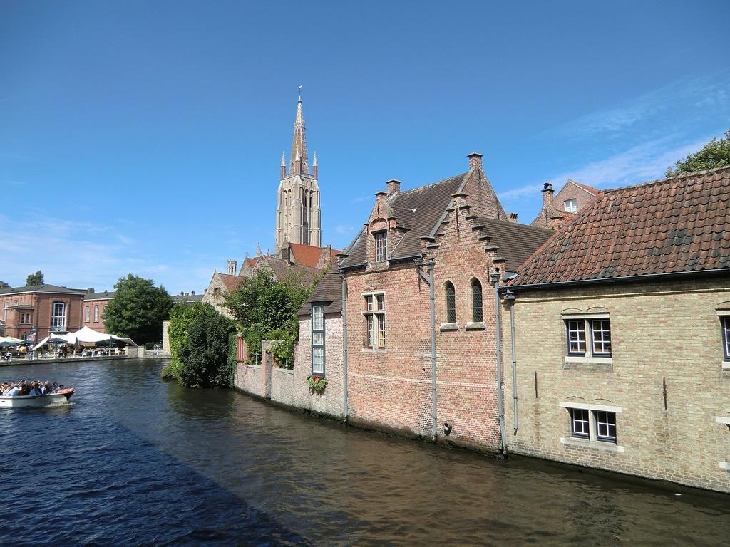 City europe belgium, architecture buildings.