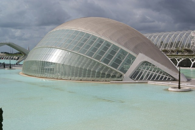 City of arts and sciences building tourism, architecture buildings.