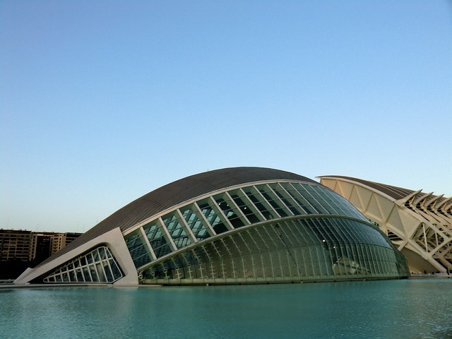 City of arts and sciences valencia spain, architecture buildings.