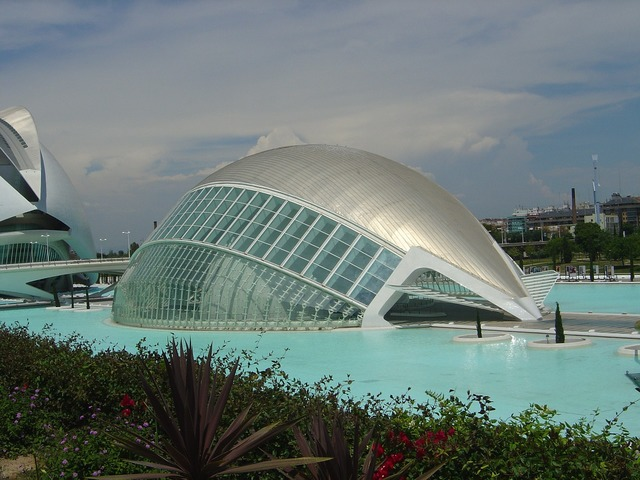 City of sciences valencia valencian community, architecture buildings.