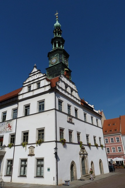 City pirna town hall, architecture buildings.