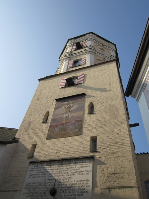 City wall tower watchtower.