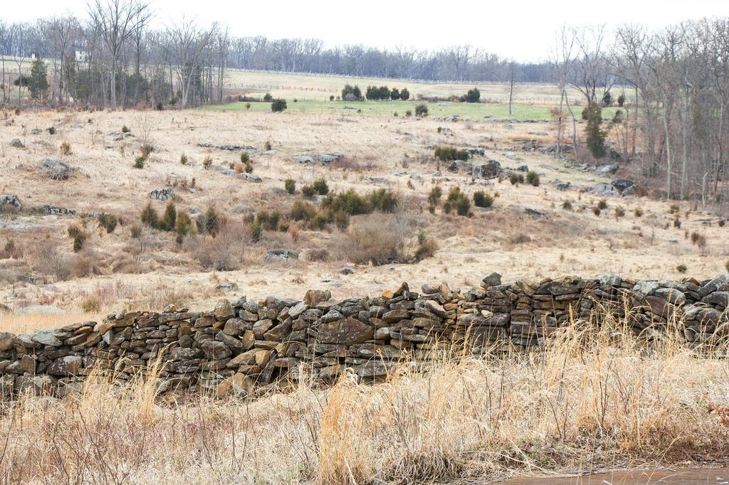 Civil war gettysburg battlefield, places monuments.