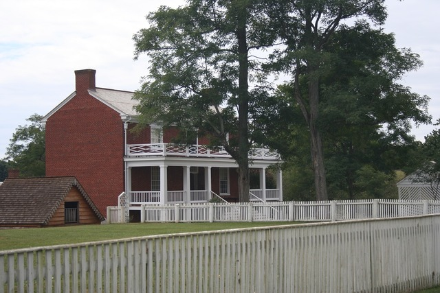 Civil war virginia historical, architecture buildings.