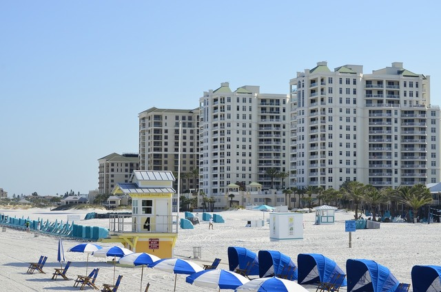Clearwater beach florida, travel vacation.