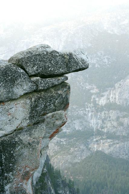 Cliff rock stone.