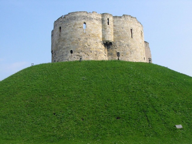 Clifford tower building, architecture buildings.