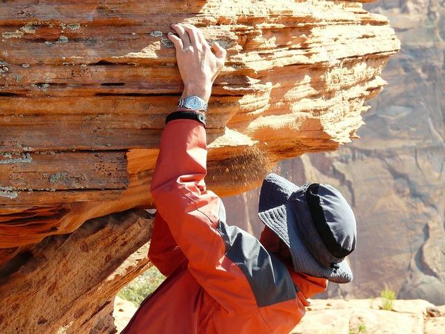 Climber rock human, people.