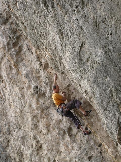 Climber sport climbing climb.