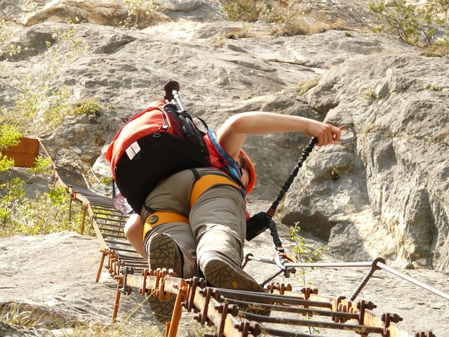 Climbing platform system climbing head.