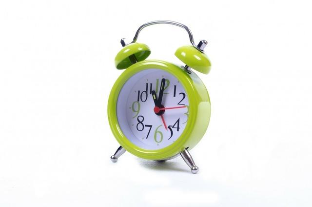Clock alarm watch.