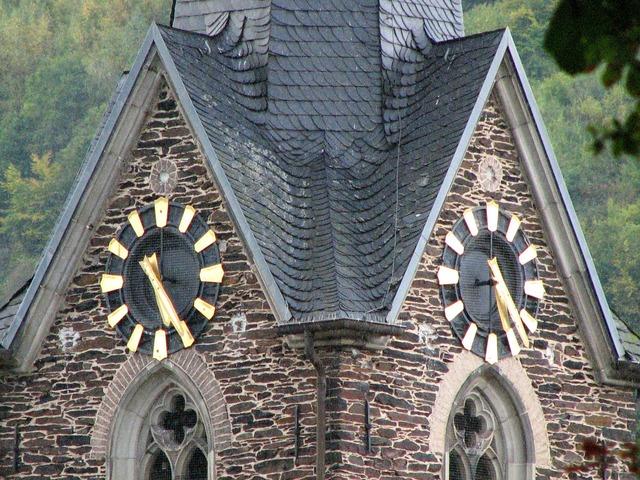 Clock church clock time, architecture buildings.