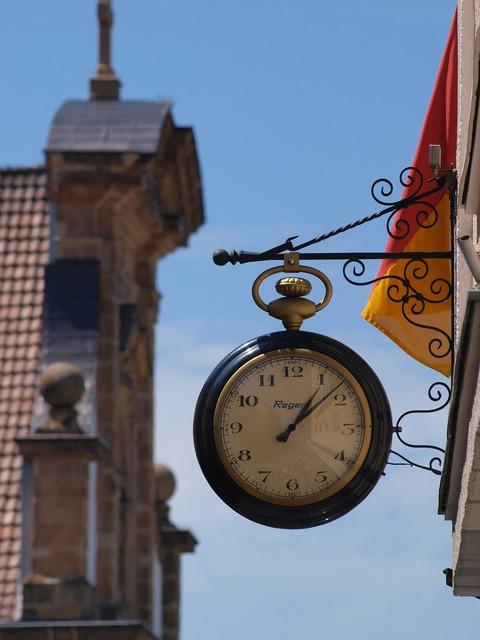 Clock church time, religion.