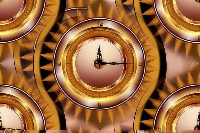 Clock round schedule, industry craft.