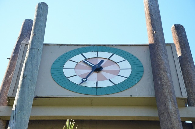 Clock time analog clock.