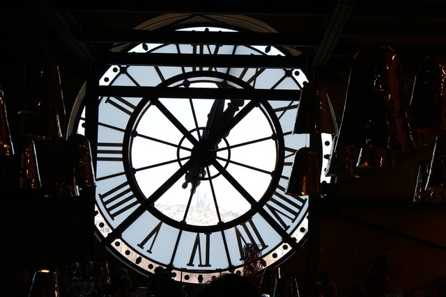 Clock time museum.