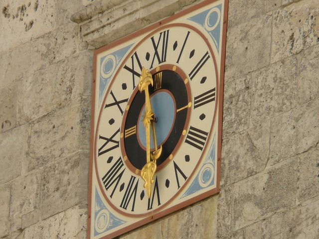 Clock time of time.