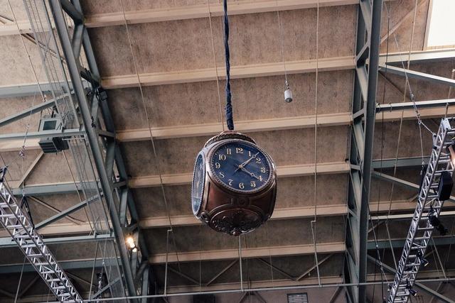 Clock time vintage, architecture buildings.