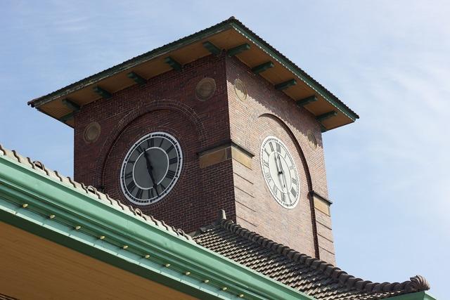 Clock tower architecture clock, architecture buildings.
