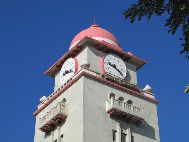 Clock tower karnataka university dharwad, architecture buildings.