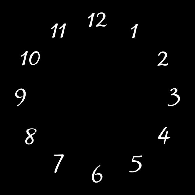 Clocks black square.