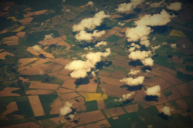 Cloud field plane.