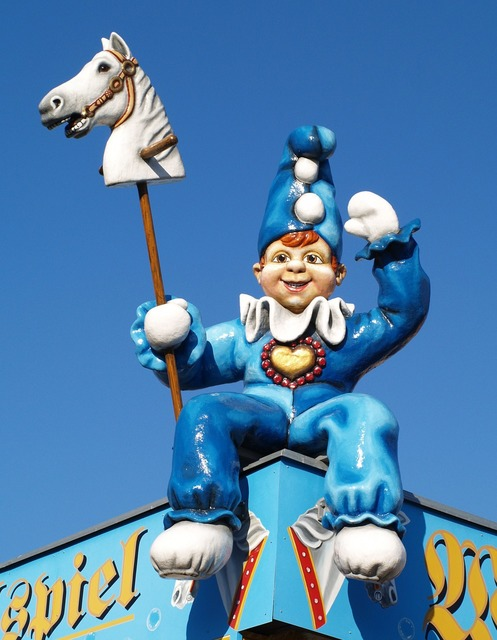 Clown fair park.