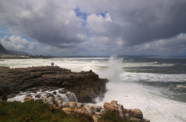 Coast rocky coast sea, travel vacation.