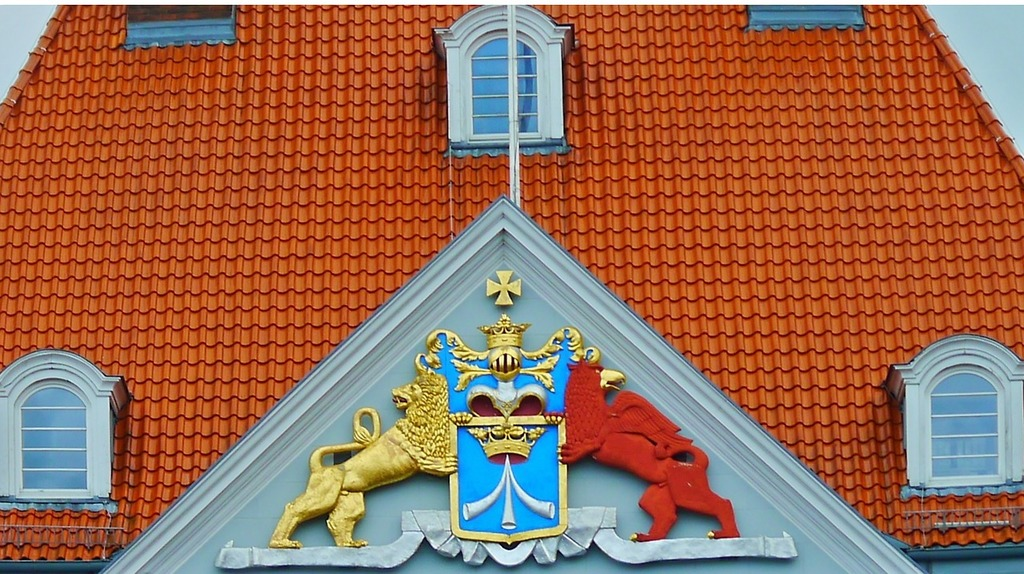 Coat of arms home building, architecture buildings.