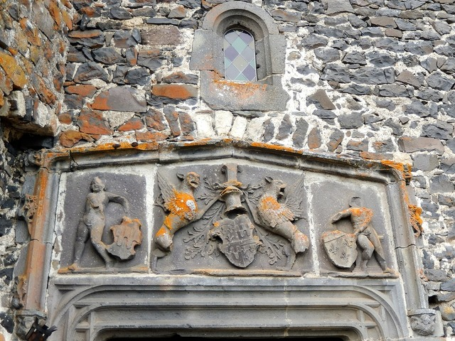 Coat of arms pierre castle.